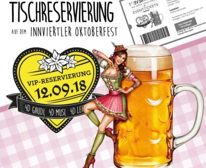 4sFEST VIP-Tischreservierung am 12.09.2018 für 8 Personen