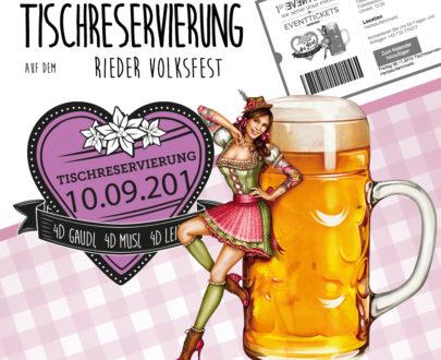 4sFEST VIP Tischreservierung am 02.09.2021 für 8 Personen